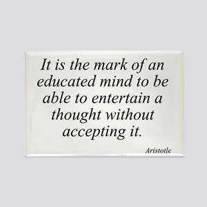 Aristotle quote 46 Rectangle Magnet