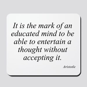 Aristotle quote 46 Mousepad