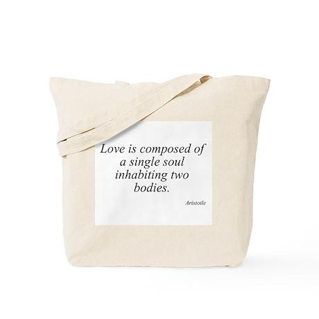 Aristotle quote 48 Tote Bag