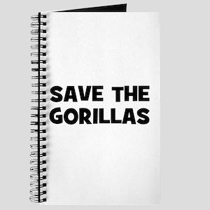 Save The Gorillas Journal