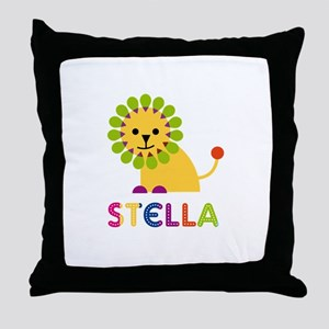 Stella the Lion Throw Pillow