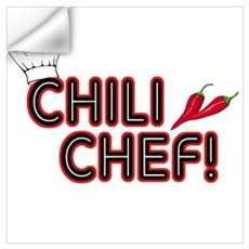 Chili Chef Wall Decal