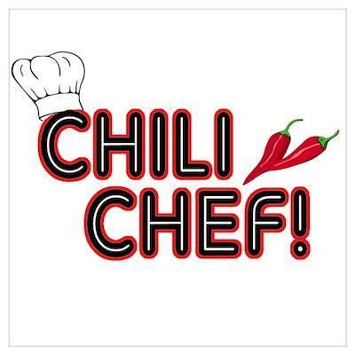 Chili Chef Poster