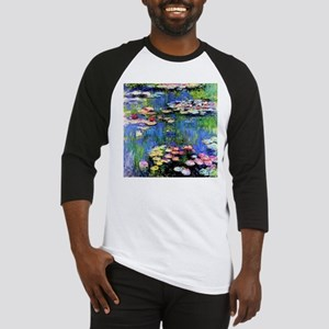 MONET WATERLILLIES Baseball Jersey