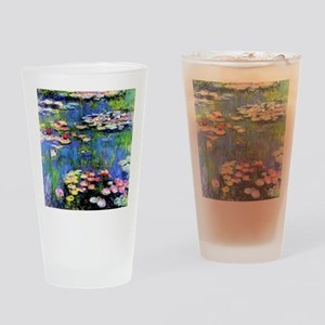 MONET WATERLILLIES Drinking Glass