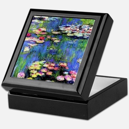 MONET WATERLILLIES Keepsake Box