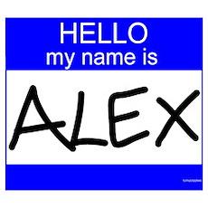 """Alex"" Poster"