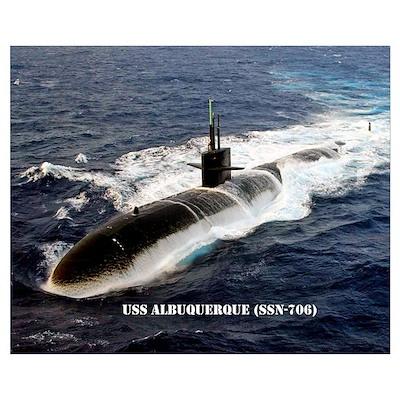USS ALBUQUERQUE Poster