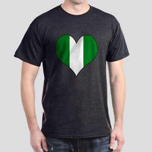 Nigeria Heart Dark T-Shirt