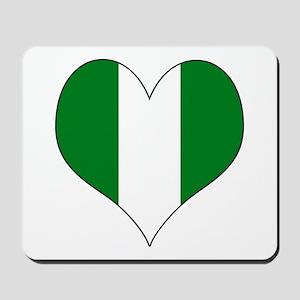 Nigeria Heart Mousepad
