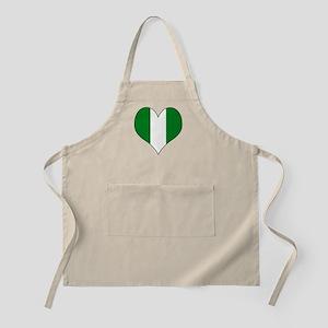 Nigeria Heart Apron