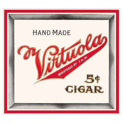 Vintage Cigar Label Poster