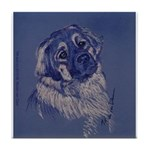 """""""A Dog Understands"""" Tile Coaster"""