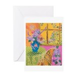 """""""Summer Afternoon"""" (TM) Greeting Card"""