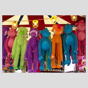 Stuffed Carnival Monkeys
