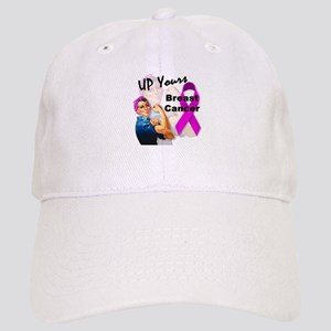 Up Yours Breast Cancer Cap
