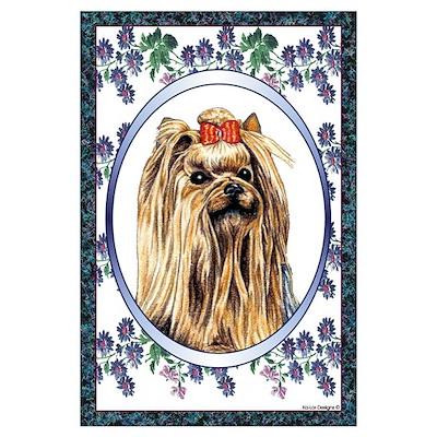 Yorkshire Terrier Designer 1 Poster