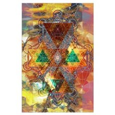 Metatron Colorscape Poster