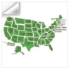 Small Town, U.S.A. Wall Decal