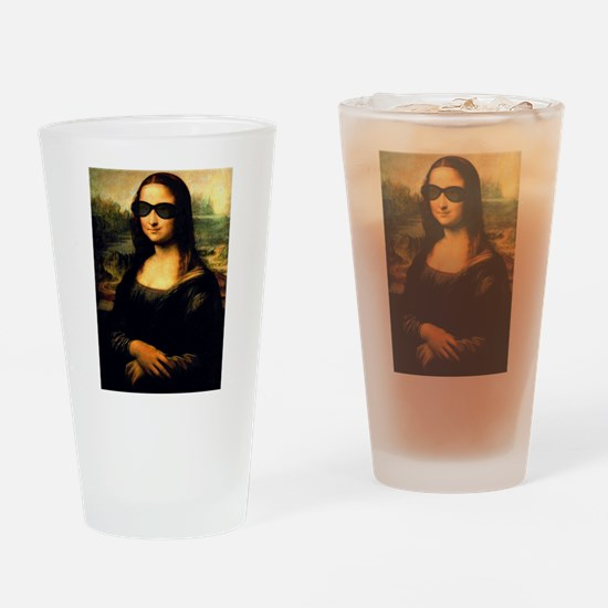 MONA LISA Drinking Glass
