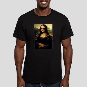 MONA LISA Men's Fitted T-Shirt (dark)