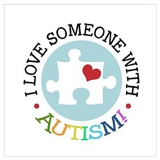 Autism Puzzle Canvas Art