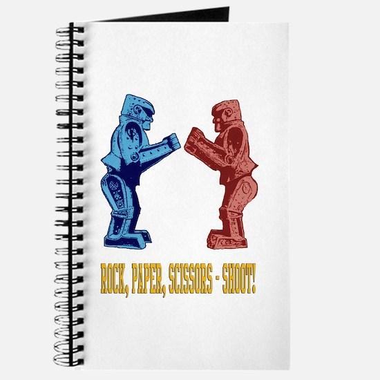 Rock'em Sock'em Paper Scissor Journal