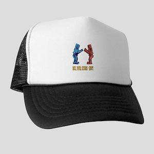 Rock'em Sock'em Paper Scissor Trucker Hat