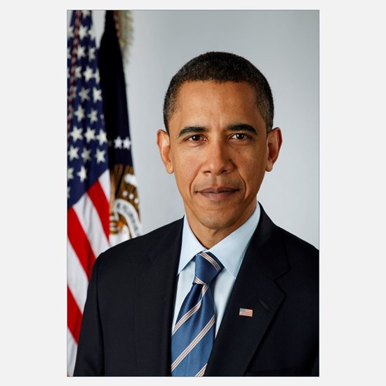 OFFICIAL PRESIDENT BARACK OBAMA PORTRAIT PRINT