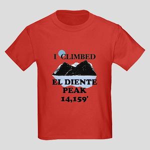 El Diente Peak Kids Dark T-Shirt