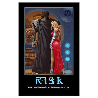 Risk motivational Poster