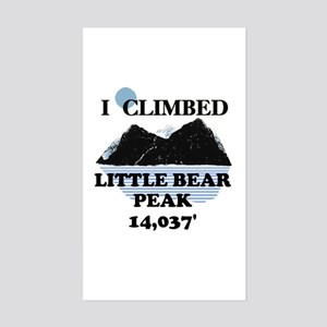 Little Bear Peak Sticker (Rectangle)
