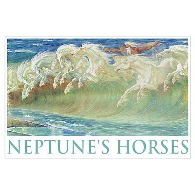 NEPTUNE'S HORSES Poster