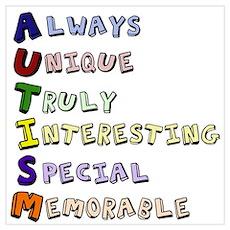 Autism Acronym Poster