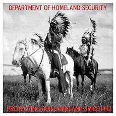 NDN Warriors Homeland Securit Poster