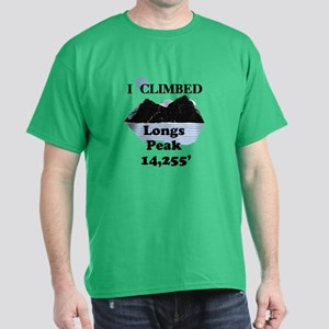 Longs Peak 14,255' Dark T-Shirt