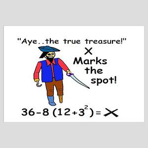 X MARKS THE SPOT OF MATH TREA