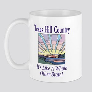 Texas Hill Country - Sun Rays Mug