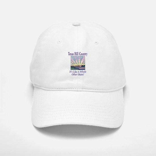 Texas Hill Country - Sun Rays Baseball Baseball Cap