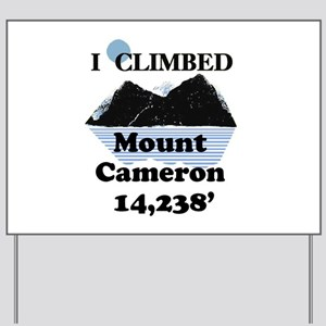 Mount Cameron Yard Sign