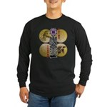 reihu Long Sleeve Dark T-Shirt