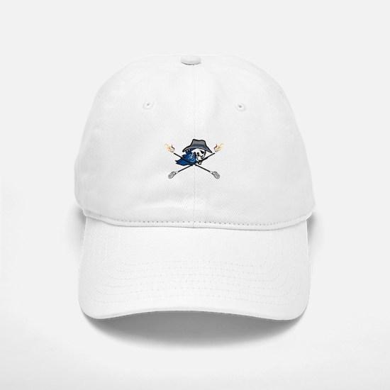 Western Skull Baseball Baseball Cap