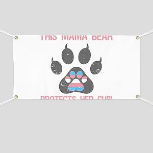 Transgender Pride For Moms Banner