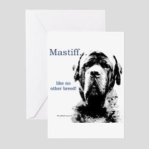 Mastiff 148 Greeting Cards (Pk of 10)