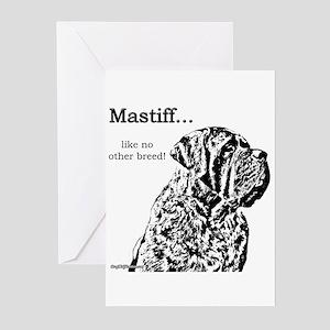 Mastiff 138 Greeting Cards (Pk of 10)