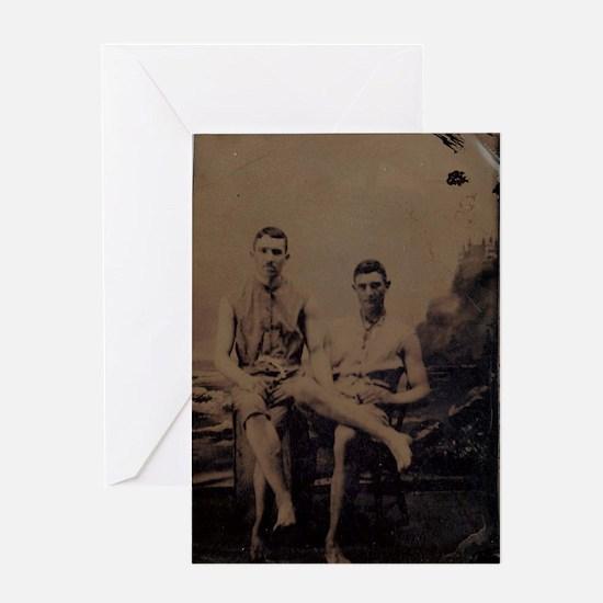 tintype2 Greeting Cards