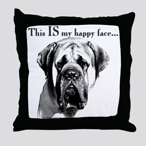 Mastiff 137 Throw Pillow