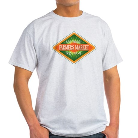 Eat Fresh Farmers Market Light T-Shirt