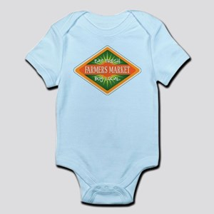 Eat Fresh Farmers Market Infant Bodysuit