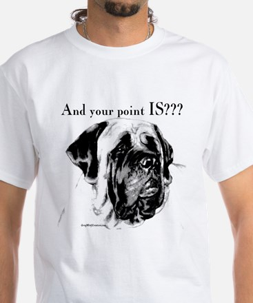 Mastiff 135 White T-Shirt